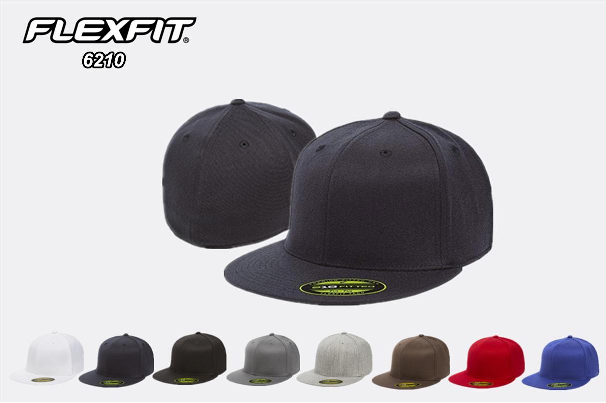 Flexfit 6210 Flexfit 210 Premium Fitted Cap from NYFifth