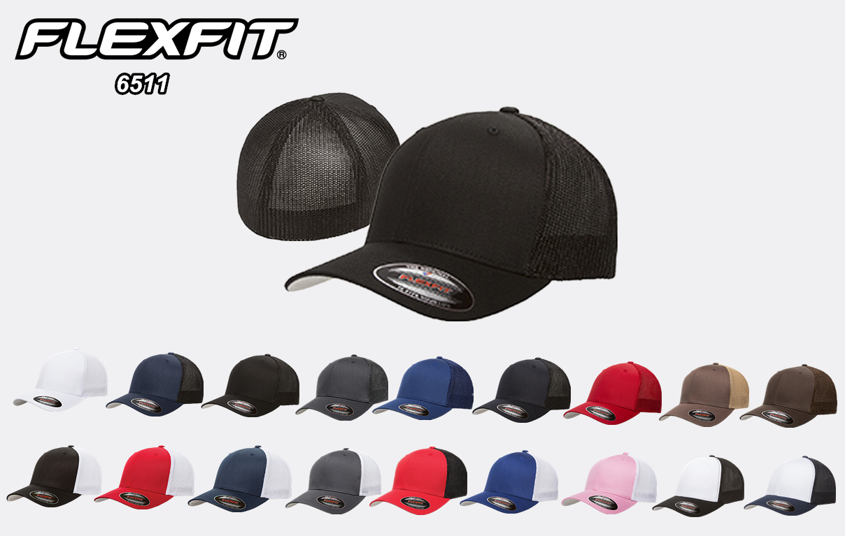 Flexfit 6511 Fitted Trucker Cap from NYfifth