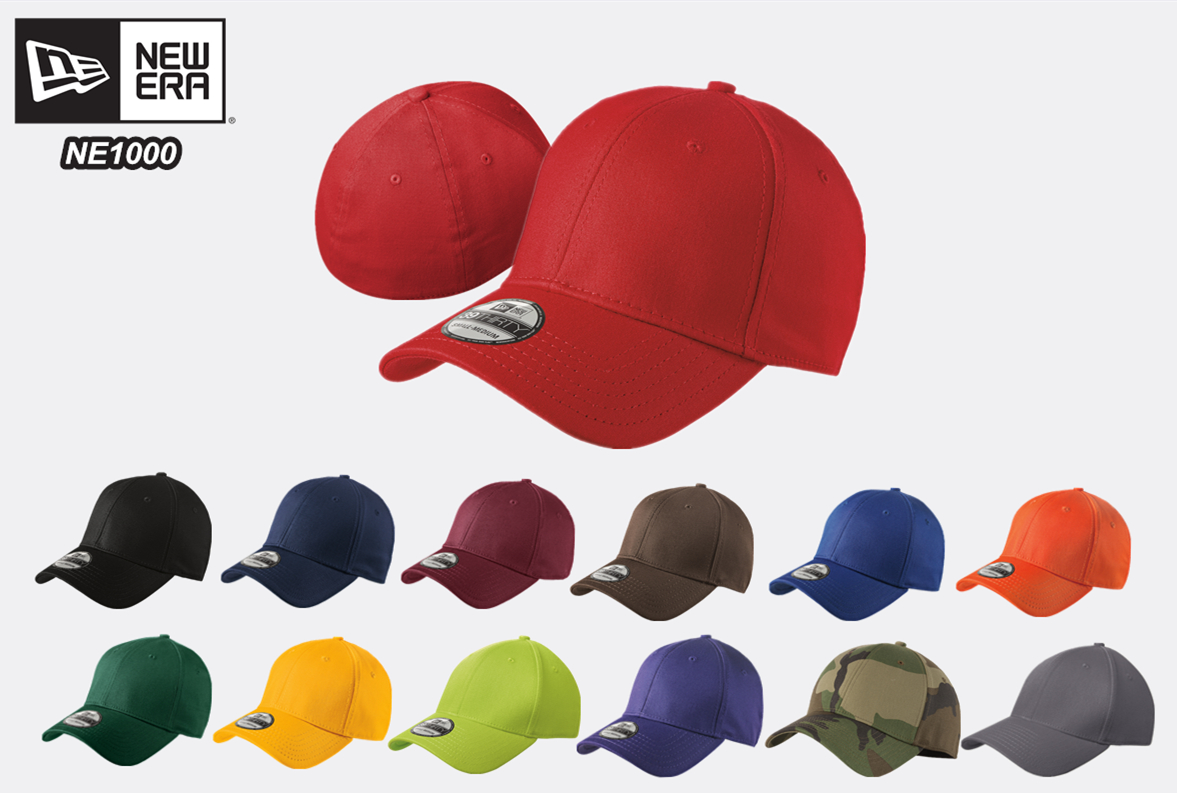 New Era NE1000 Structured Stretch Cotton Cap from NYFifth