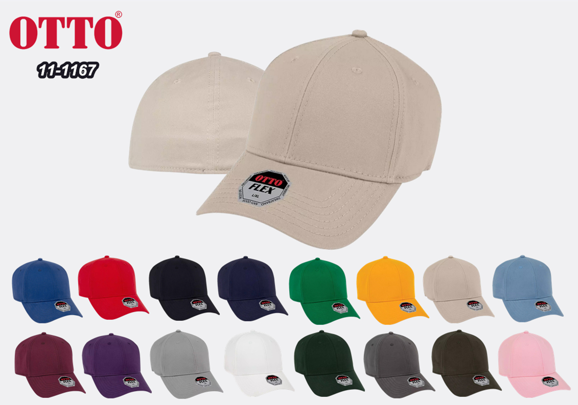OTTO Cap Flex 6 Panel Low Profile Baseball Cap from NYFifth