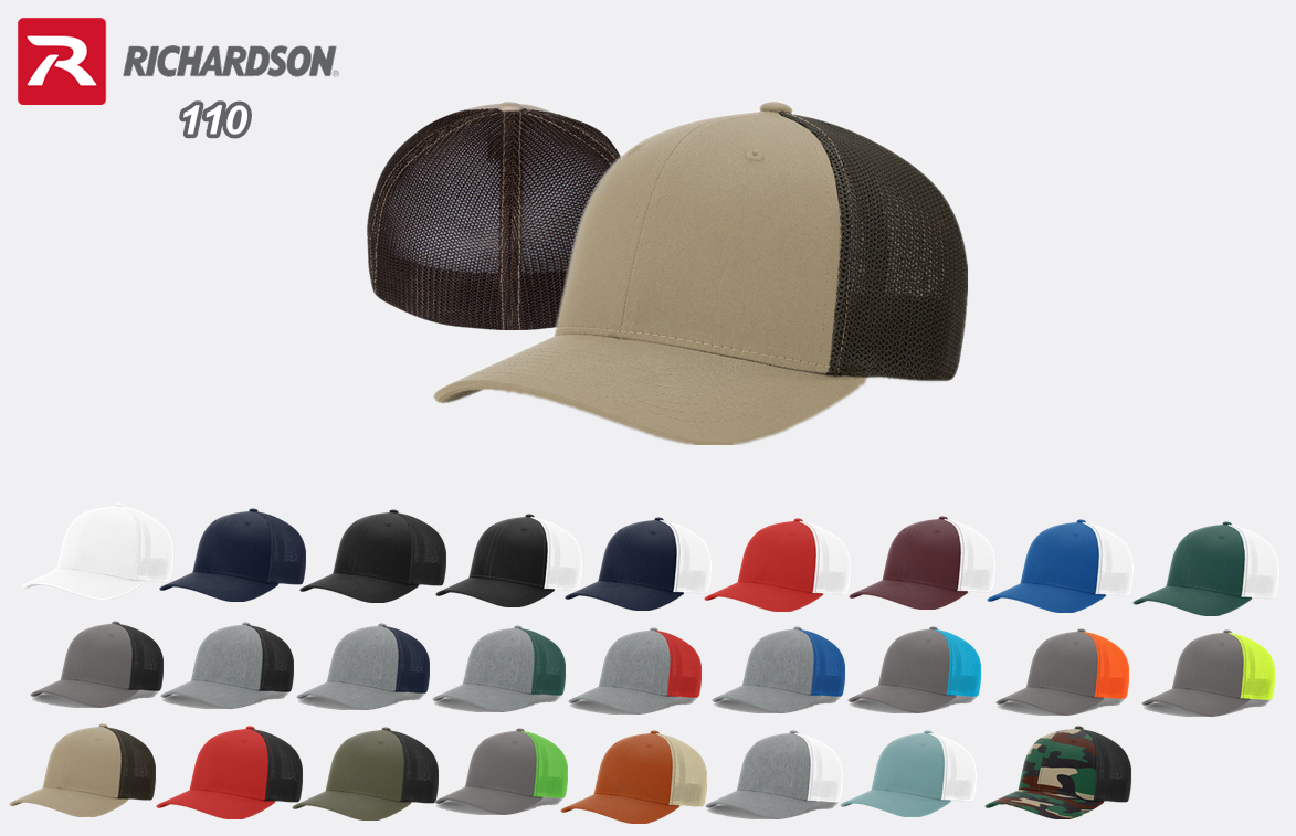 Richardson 110 Fitted Trucker with R Flex from NYFifth