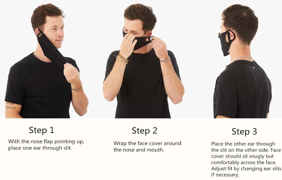 How To Wear Bella Canvas Mask