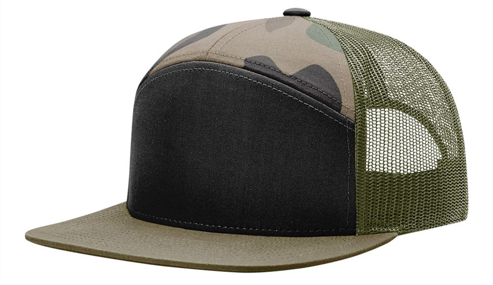 Richardson 168 7Panel Trucker Cap from NYFifth