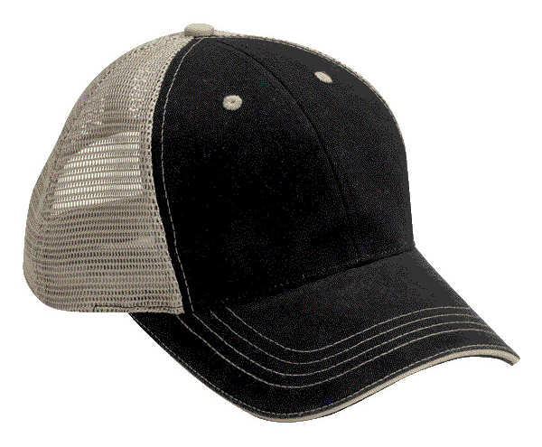 Cobra WM 6 6 Panel Washed Twill Front Soft Mesh Cap from NYFifth