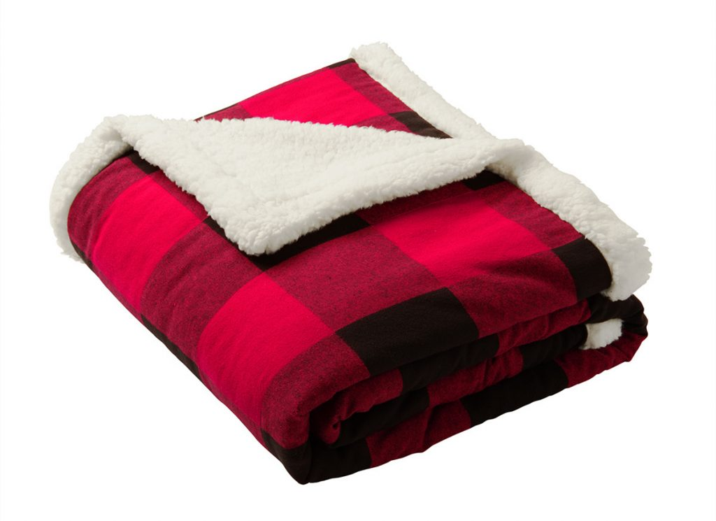 Port Authority BP43 Flannel Sherpa Blanket from NYFifth