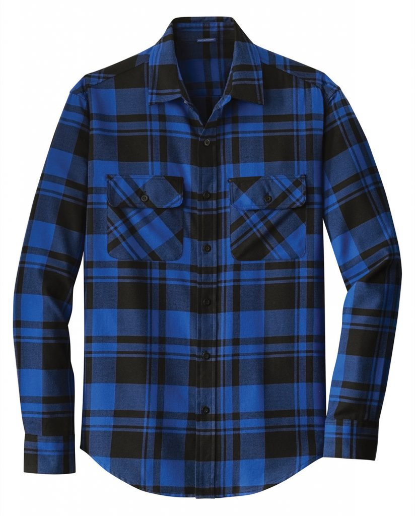 Port Authority W668 Plaid Flannel Shirt from NYFifth