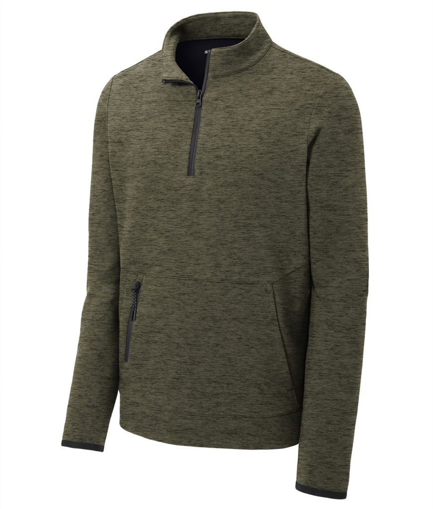 Sport Tek ST281 Triumph Quarter Zip Pullover from NYFifth