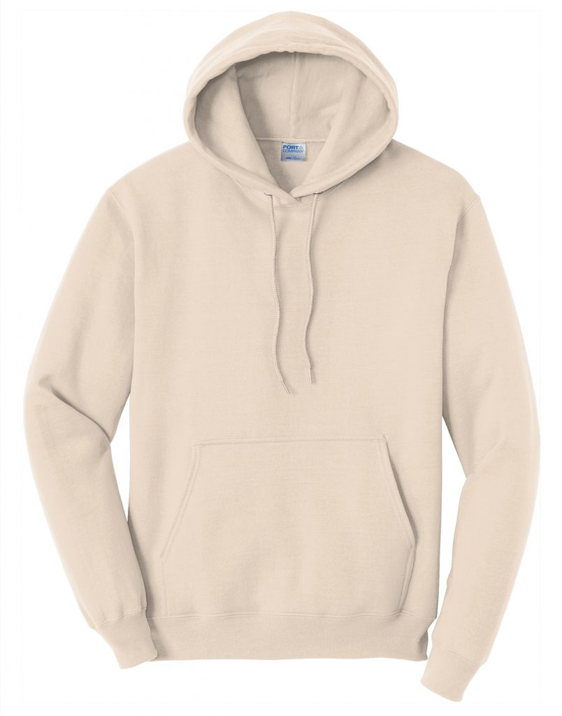 Port and Company PC78H Core Fleece Pullover Hooded Sweatshirt from NYFifth
