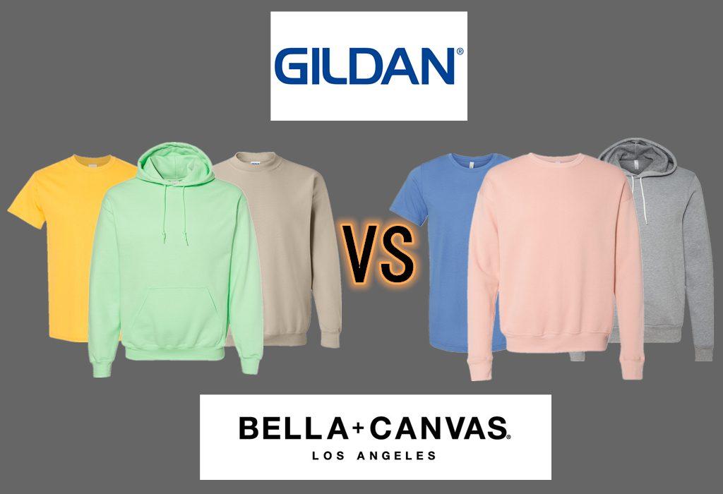 Gildan vs Bella Canvas from NYFifth