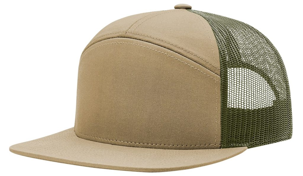 Richardson 168 7 Panel Trucker Hat from NYFifth