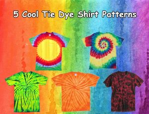 5 Cool Tie Dye Shirt Patterns from NYFifth