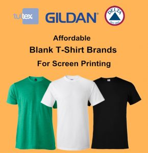 Affordable Blank Tee Shirt Brands for Screen Printing from NYFifth