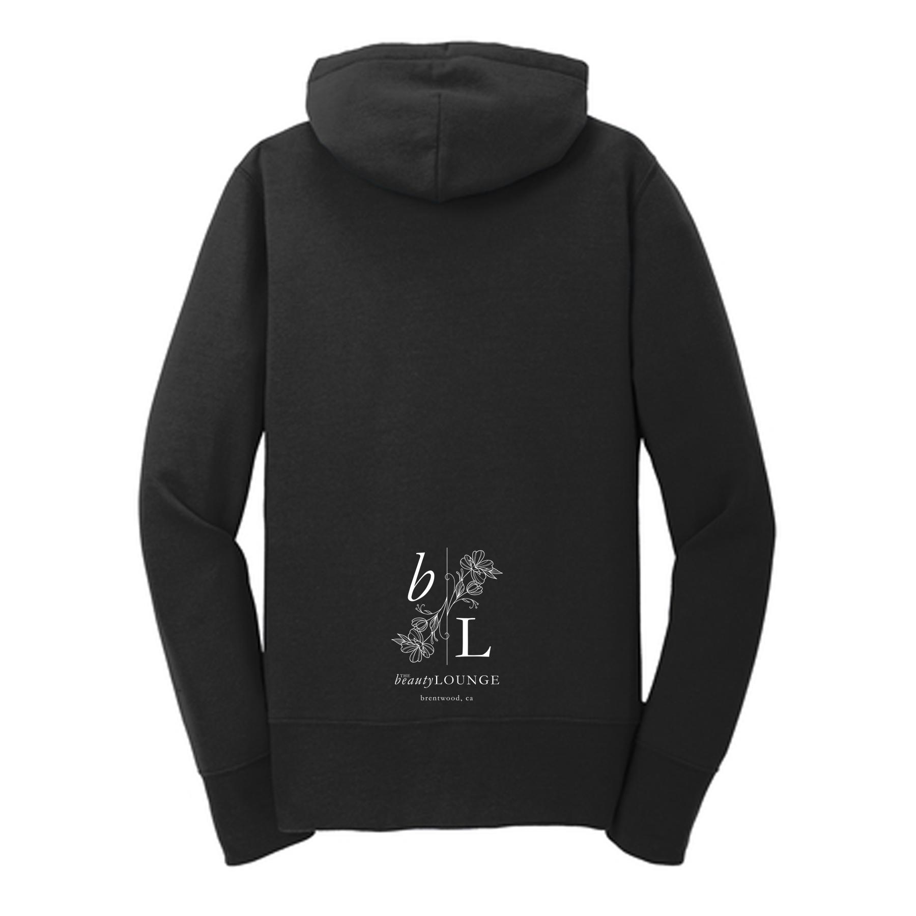 custom design of Port & Company  LPC78ZH - Ladies Classic Full-Zip Hooded Sweatshirt