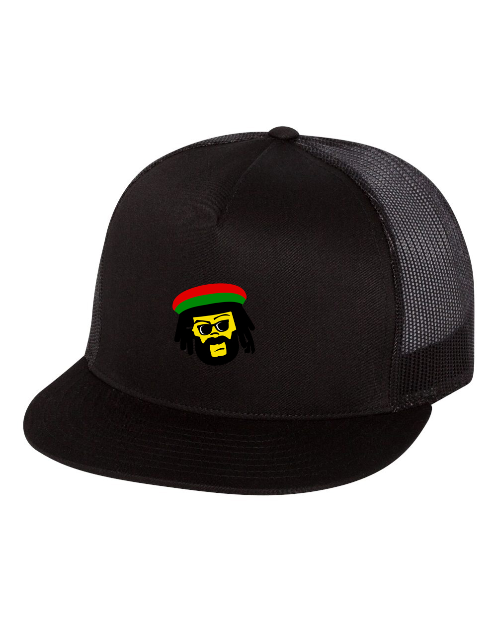 custom design of Yupoong 6006 - 5-Panel Classic Trucker Cap