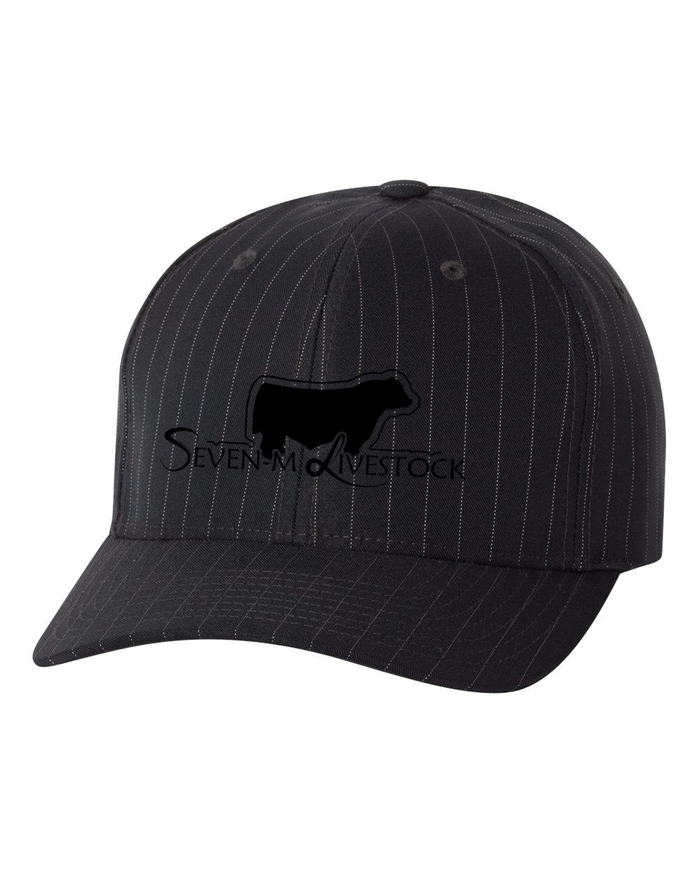 custom design of Flexfit 6195P Pinstripe Cap