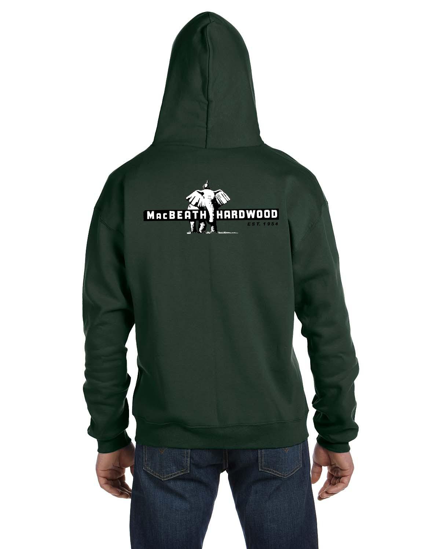 custom design of Champion S800  9 oz., 50/50 Full-Zip Hooded Fleece