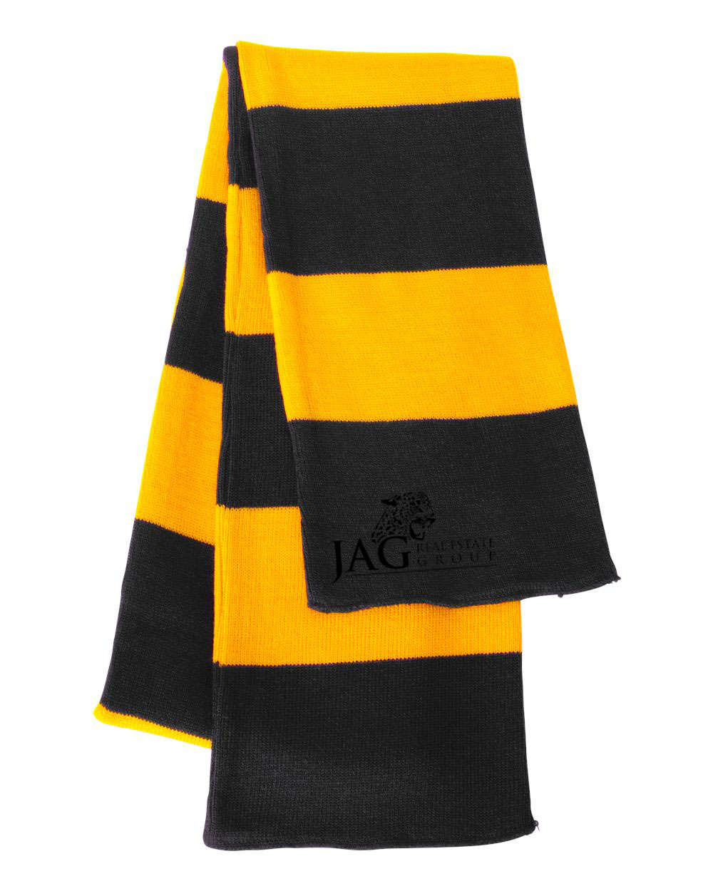 custom design of Sportsman SP02- Rugby Striped Knit Scarf