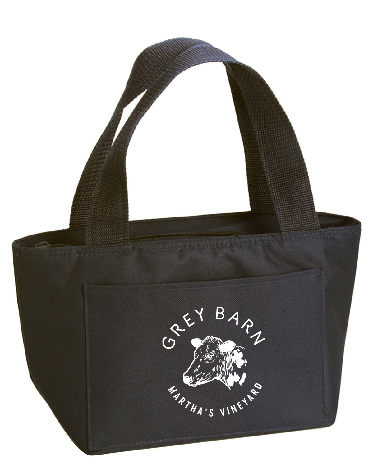 custom design of Liberty Bags Recycled Cooler Tote-8808