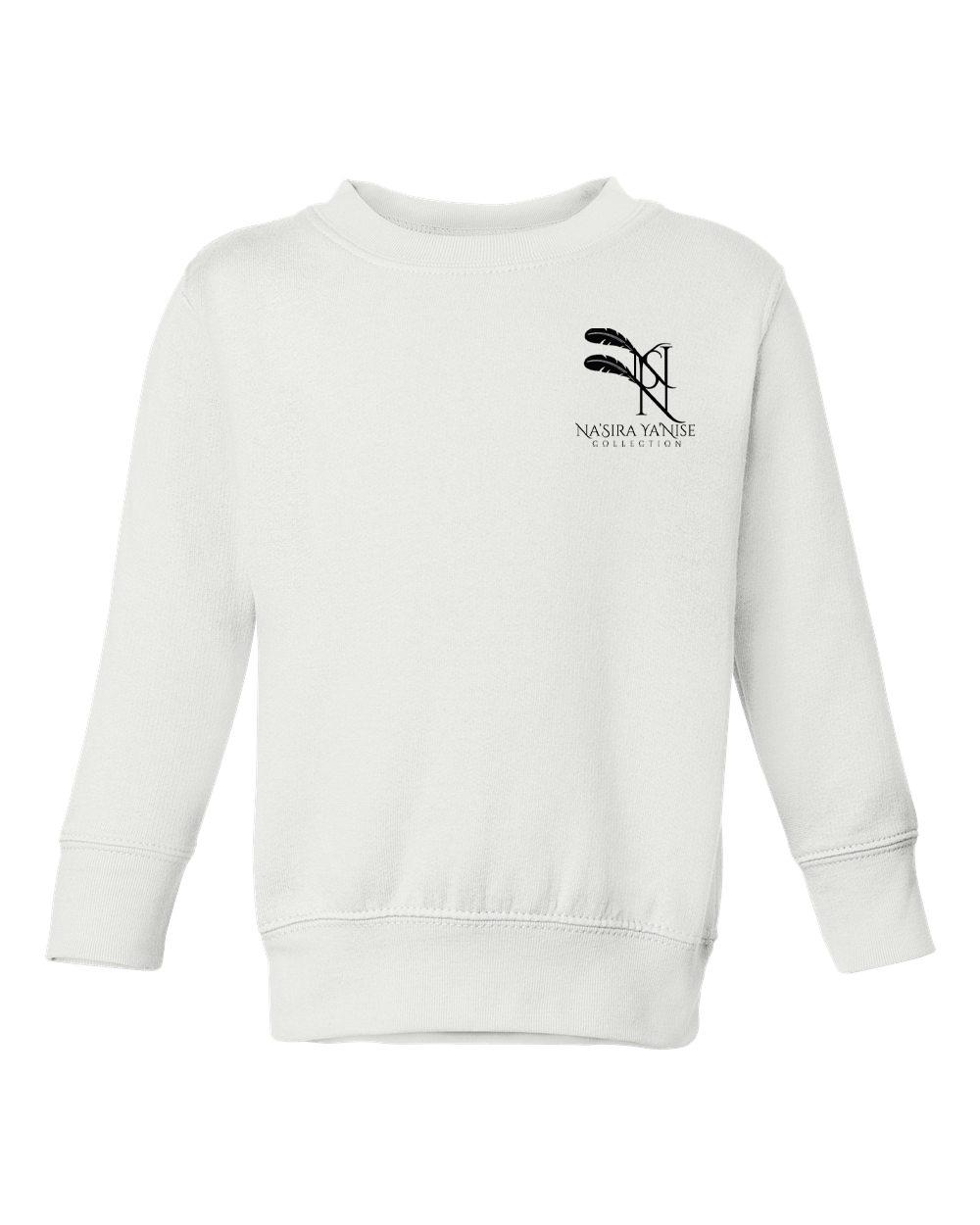 custom design of Rabbit Skins 3317 Toddler/Juvy Crewneck Sweatshirt