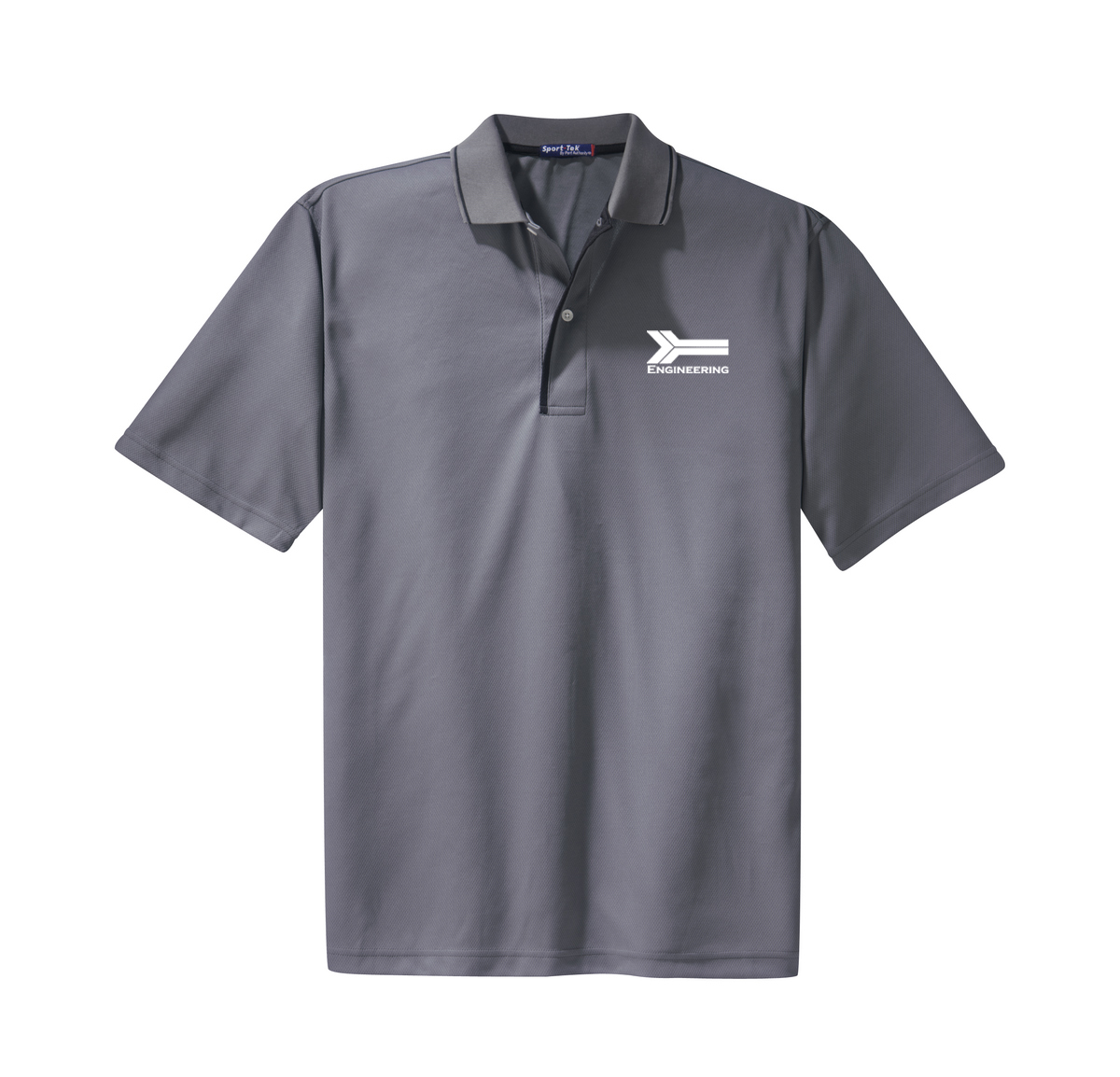 custom design of Sport-Tek® K467 Dri-Mesh® Polo with Tipped Collar and Piping