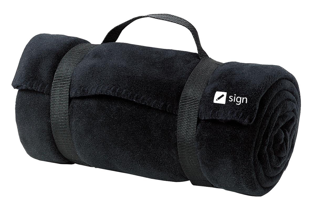 Port Authority® BP10 - Value Fleece Blanket with Strap