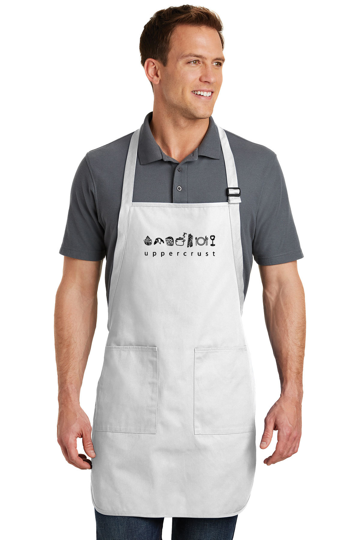 custom design of Port Authority® A500 Full Length Apron with Pockets