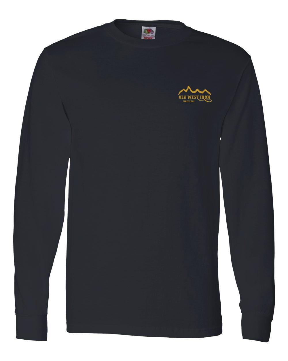 custom design of Fruit of the Loom 4930R Heavy Cotton Long Sleeve T-Shirt