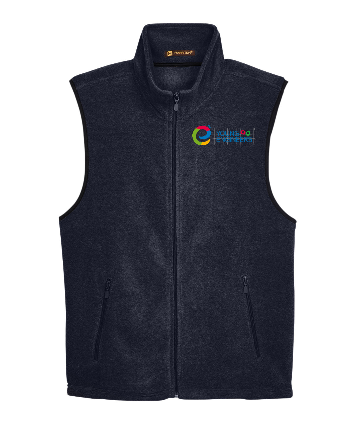 custom design of Harriton M985  Fleece Vest