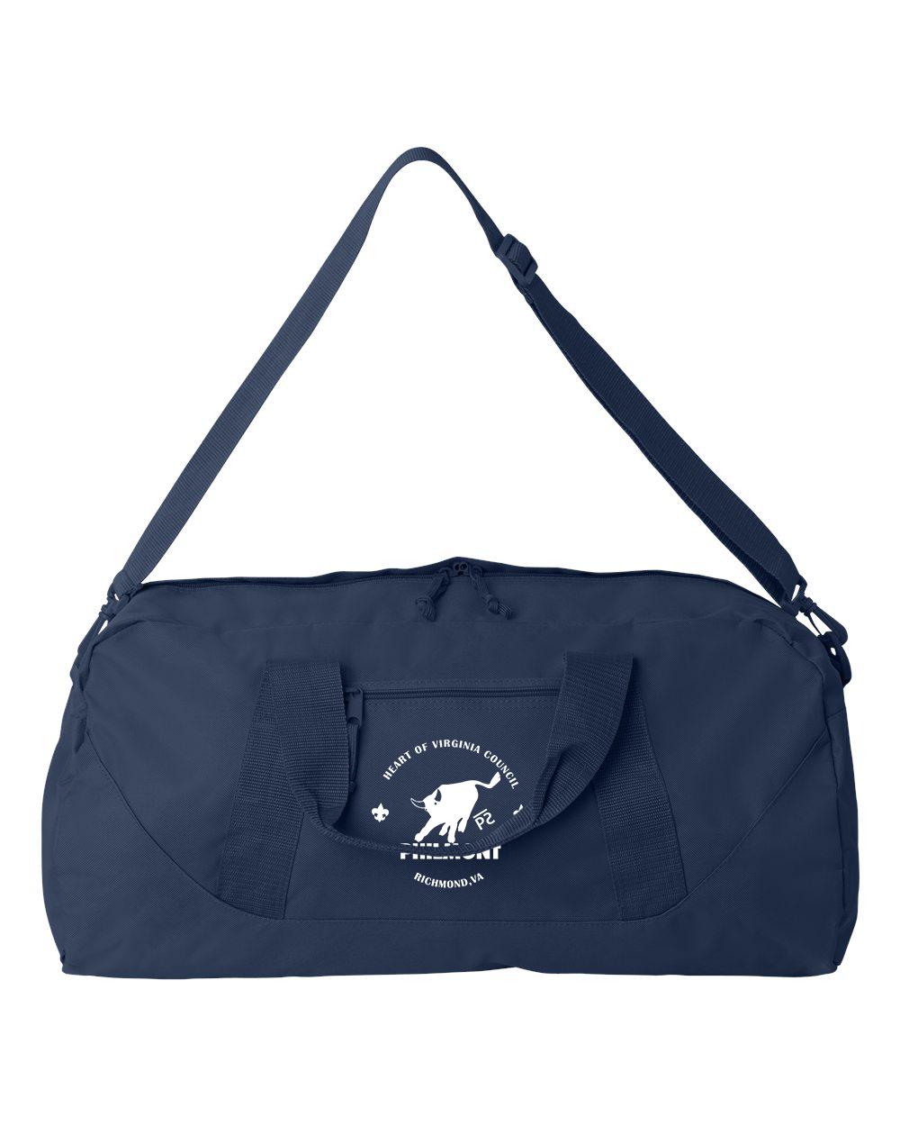custom design of Liberty Bags Large Square Duffel 8806