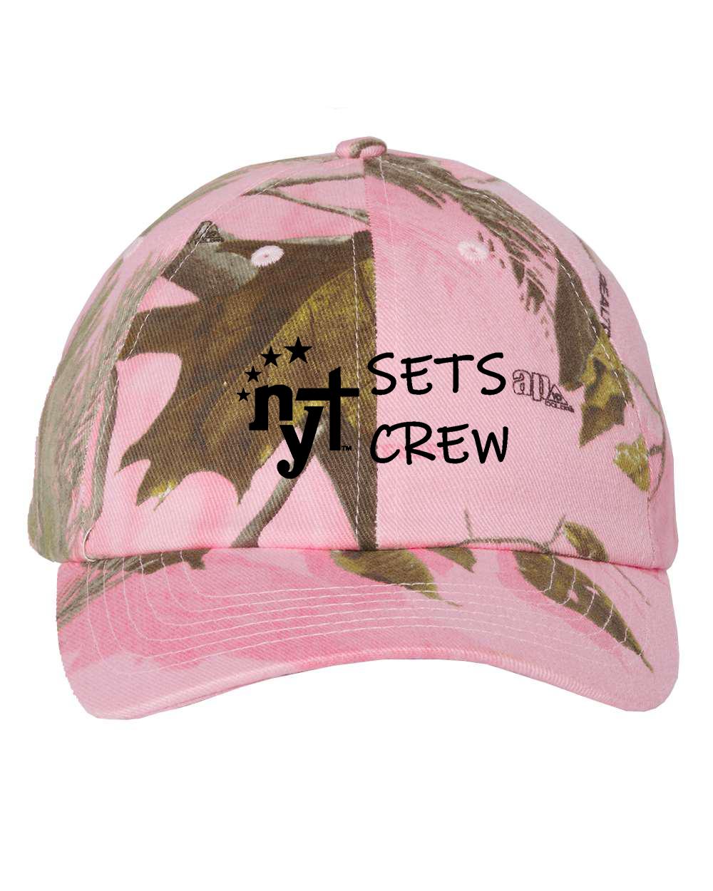 custom design of KATI MO25 Solid Crown Camoflage Cap