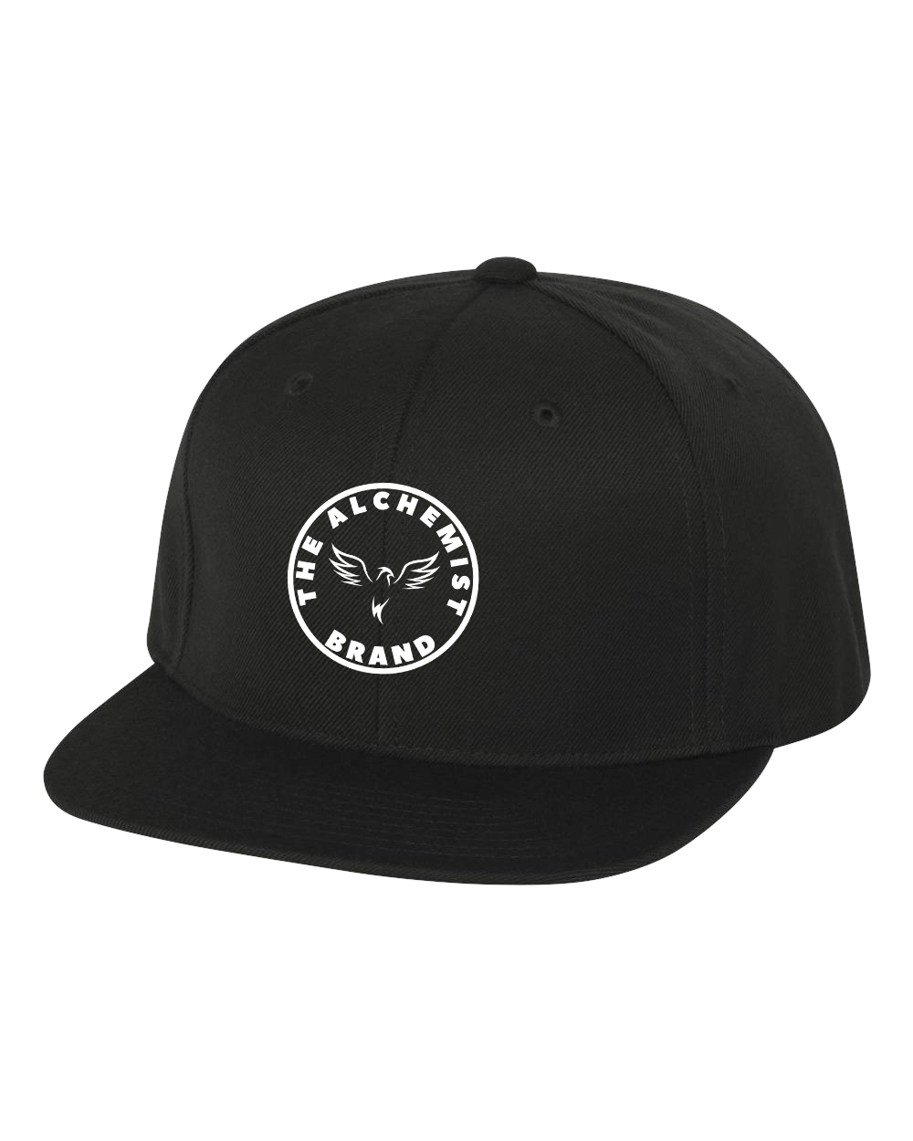 custom design of Yupoong 6089 6-Panel Structured Flat Visor Classic Snapback