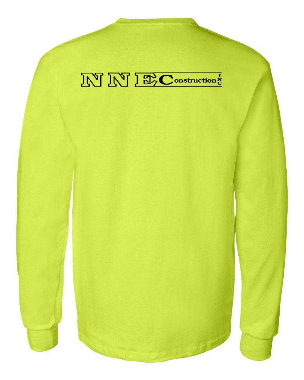 Gildan 2410 Ultra Cotton Long Sleeve T-Shirt with a Pocket