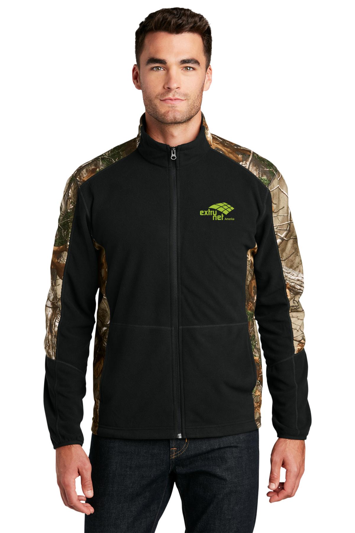 Port Authority® F230C-Camouflage Microfleece Full-Zip Jacket