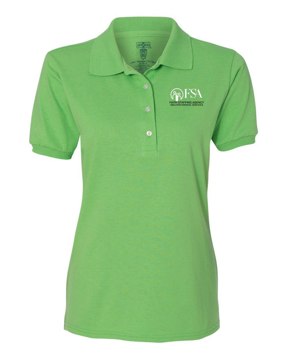 Jerzees 437W - Women's Spotshield 50/50 Sport Shirt