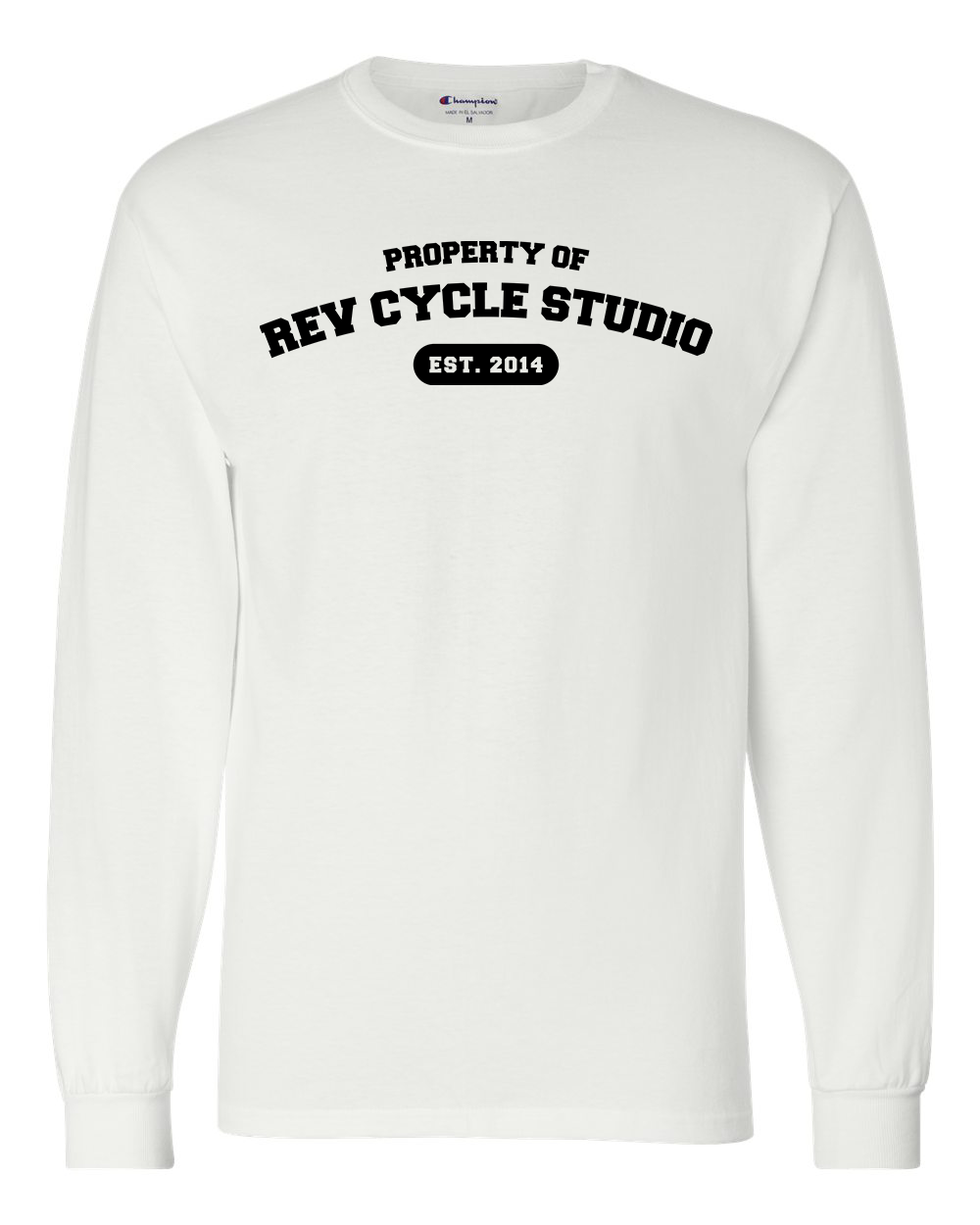 custom design of Champion CC8C  Long-Sleeve Tagless T-Shirt