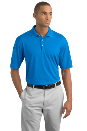 NIKE GOLFDri-FIT Cross-Over Texture Sport Shirt.