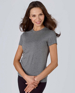 Bella B800  Women's Cotton/Spandex Crew Neck T