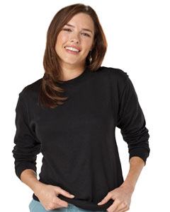 Hanes 5286  Heavyweight Cotton Long Sleeve T-Shirt