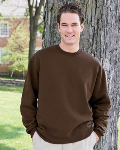 Hanes B160  Premium Cotton Crewneck Sweatshirt