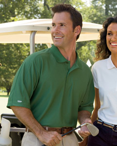 Izod 13Z0075  Men's Performance Golf Pique Polo