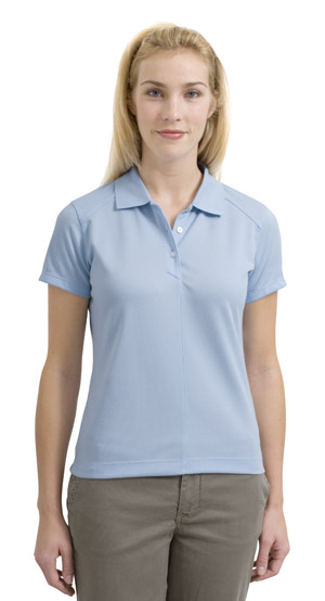 Nike 244613  GolfLadies Dri-FIT Pique Sport Shirt.
