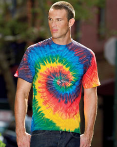 Tie-Dye CD100 5.4 oz., 100% Cotton Tie-Dyed T-Shirt