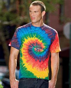 Tie-Dye CD100 5.4 oz., 100% Cotton Tie-Dyed T-Shirt