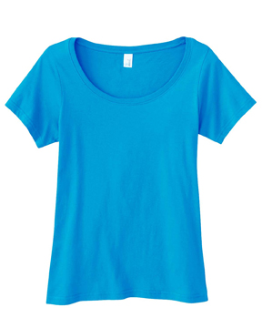 Anvil 391A Ladies Sheer Scoop Neck T