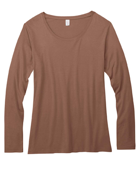 Anvil 399 - Ladies Featherweight Long-Sleeve Scoop Tee