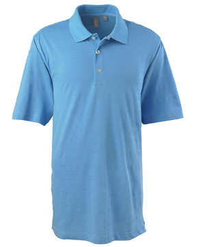 Ashworth 2203C Men's EZ-Tech Short-Sleeve Textured Polo