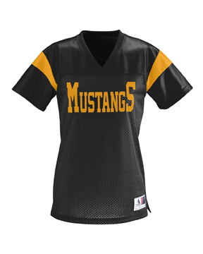 Augusta Drop Ship 252 Ladies' Jr. Fit Pep Rally Jersey