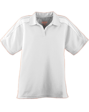 Augusta Drop Ship 5087 Ladies' Wicking Textured Color Block Sport Shirt
