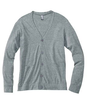 Bella 3900 Unisex 5.6 oz. Triblend Cardigan