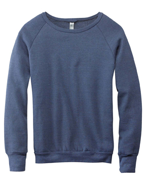 Canvas 3901 - Unisex Triblend Sponge Fleece Crewneck ...
